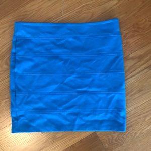 Blue M skirt